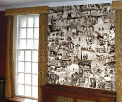 sepia collage by wallpapered