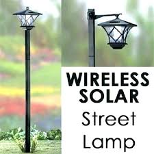 yard post light outdoor solar lamp post posts lights lighting garden yard landscape light wireless enchanted