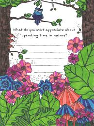 Nature Coloring Page From Tiny Buddhas Gratitude Journal Tiny Buddha
