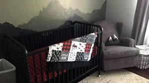 red black bedding boy crib bedding little man moose gray arrows red black buffalo check red