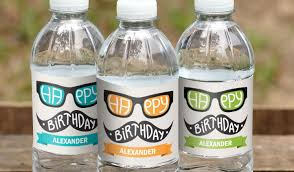 custom labeling stickers water bottle labels award winning quality stickeryou stickeryou