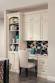 desk built in cabinet kraftmaid built in desk with bookcase and cabinets ideas for the way