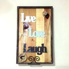 live love laugh wall decor wood and e la wooden words for wall live love laugh