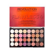 makeup revolution 32 ultra eyeshadow palette flawless 4