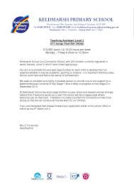 Cover Letter For Teacher Assistant Position 100 Images Cover