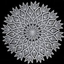 Pineapple Doily Pattern Crochet Patterns