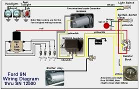 ford 3600 tractor alternator wiring diagram solidfonts ford tractor 6610 alternator wiring diagram home