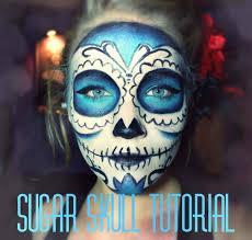 half skeleton makeup photo 1