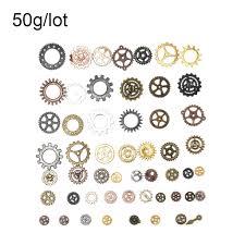 Простой <b>стиль 50g</b>/<b>Pack Смешанные</b> Винтаж Steampunk Gear ...