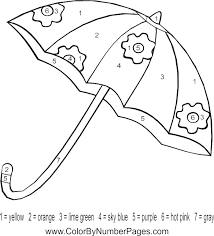 Small Picture Umbrella Coloring Sheet Ant llcnet