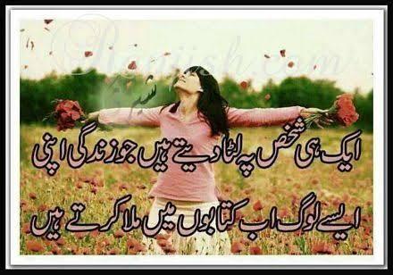 urdu shayari dosti in english