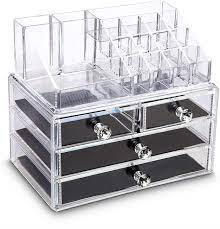 pickvill acrylic cosmetic storage box