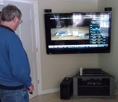 corner wall mount tv plan
