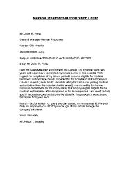 Sample Medical Authorization Letter Beauteous Sample Medical Authorization Letters Gameisus