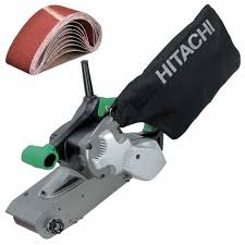 hitachi belt sander. hitachi sb10v2 4\ belt sander 8