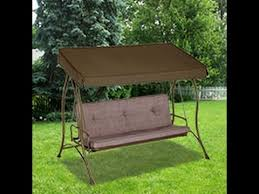 ACE Patio Swing Cushions Seat Support and Canopy Fabric