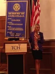 Priscilla Perkins, from Lighthouse of Oakland County visited us! | Rotary  Club of Birmingham