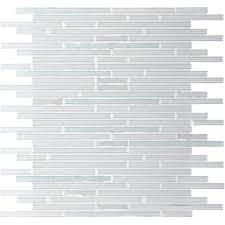 linear glass mosaic tile fanfare once glass mosaic diamond freeze white random linear glass tile mosaic linear glass mosaic