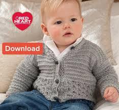 Free Baby Knitting Patterns Cool Free Red Heart Baby Knitting Pattern Cardigan LoveKnitting Blog