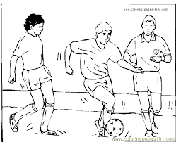 Small Picture Soccer Football Coloring Page 27 Coloring Page Free Others