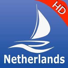 Netherlands Gps Nautical Pro By Mapitech