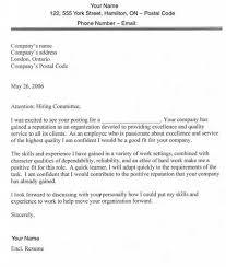 Cover Letter To Non Specific Recipient Zonazoom Com