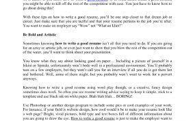 How To Start Off A Resume How And Why Give Your Resume A Facelift