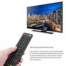 Buy Innovative Keyboard TV English Remote Control Replacement For Blaupunkt  SHARP at affordable prices — free shipping, real reviews with photos — Joom