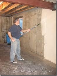 unfinished basement walls. Beautiful Basement Parents Of A Dozen Painting An Unfinished Basement For Walls W