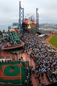 At T Park San Francisco Giants Ballpark Digest