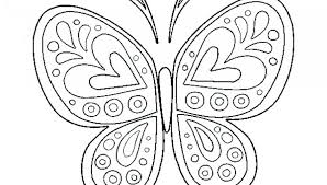 printable butterfly coloring pages. Fine Coloring Interior Butterfly Coloring Pages Free Adult Gorgeous Primary 8  On Printable O