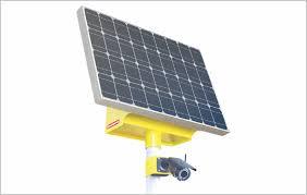 Система видеонаблюдения vgm на солнечной электростанции  Видекоамера vgm на солнечной электростанции