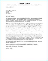 Sample Attorney Cover Letters Marvellous Sample Attorney Cover Letter To Make Cover Letter