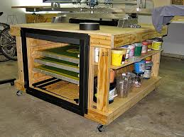 a new one that is smaller and serves a diffe storage purpose as we have a larger screen drying cabinet now and our water based inks