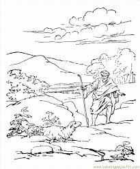 Small Picture Parable Of Lost Sheep Coloring Pages Coloring Home