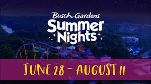 laser light show more at summer nights busch gardens williamsburg
