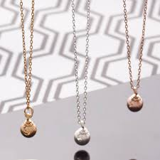 small ball pendant necklace