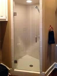 frameless shower door replacement parts shower door towel bar frameless