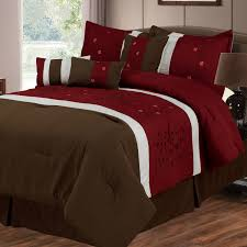 Red And Brown Bedroom Red And Brown Bedding