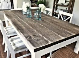 old wooden door dining table