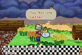 Flower Fields Paper Mario Paper Mario Letters