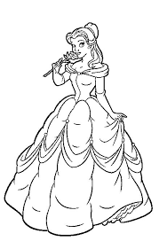 Small Picture Belle Coloring Pages 2017 Dr Odd