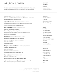 User Experience Designer Resume Classy 48 Beautiful Résumé Designs You'll Want To Steal
