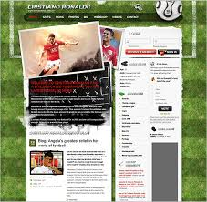 Website Templates Wordpress Magnificent Football Theme Wordpress Theme Free Wordpress Themes