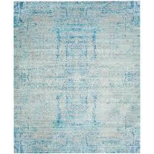 safavieh mystique light bluemulti 8 ft x 10 area rug light blue area rug v65 rug