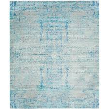 safavieh mystique light blue multi 8 ft x 10 ft area rug