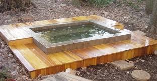diy inground hot tub elegant home made hot tub cynder blocks google search of diy inground
