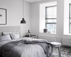 Modernes Schlafzimmer In Grau Weiß Bilderrahmen Gr
