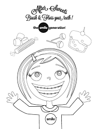 Small Picture Dental Health Month Coloring Pages Sheets Coloring Coloring Pages