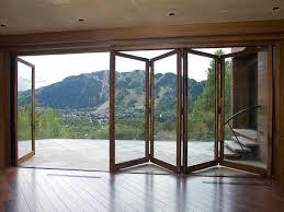 Plain Folding Patio Doors Exterior Door Style Definitely Rather To Decorating